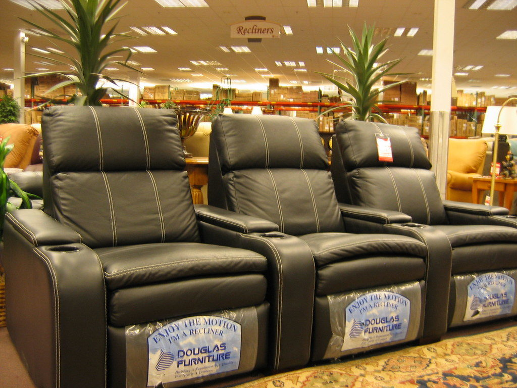 Image of Recliners covered in Bonded Leather