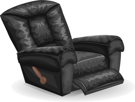 Image of a recliner chair