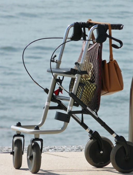 All-Terrain Walker for Seniors and the Elderly